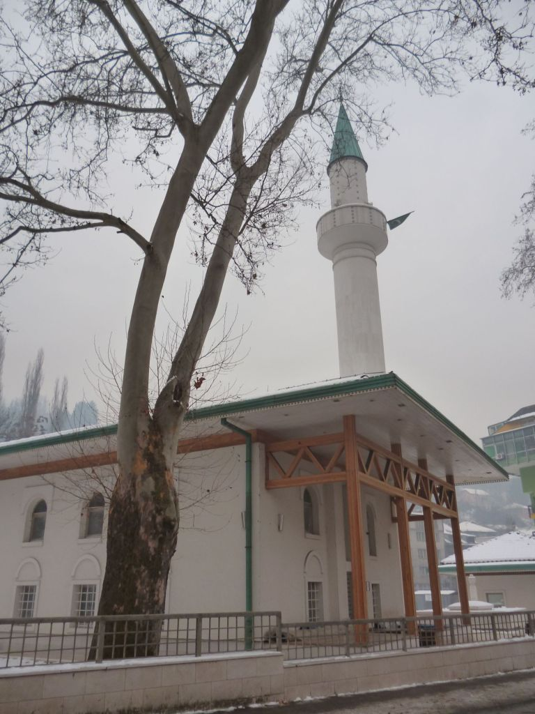 Восстановленная мечеть Бакр-бабы. Фото: Елена Арсениевич, CC BY-SA 3.0