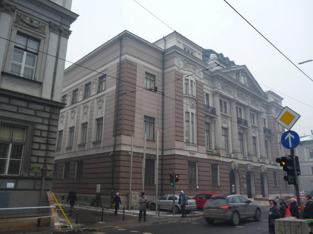 Здание, построенное по проекту Рудольфа Тонниеса. Фото: Елена Арсениевич, CC BY-SA 3.0