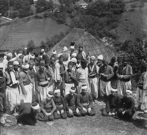 Боснийские мусульмане. Rudolf Bruner-Dvořák, Public Domain