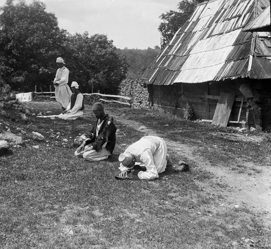 Молитва. Rudolf Bruner-Dvořák, Public Domain