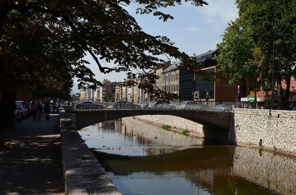 Царев мост в Сараево. Фото: CeeGee, CC-BY-SA-4.0