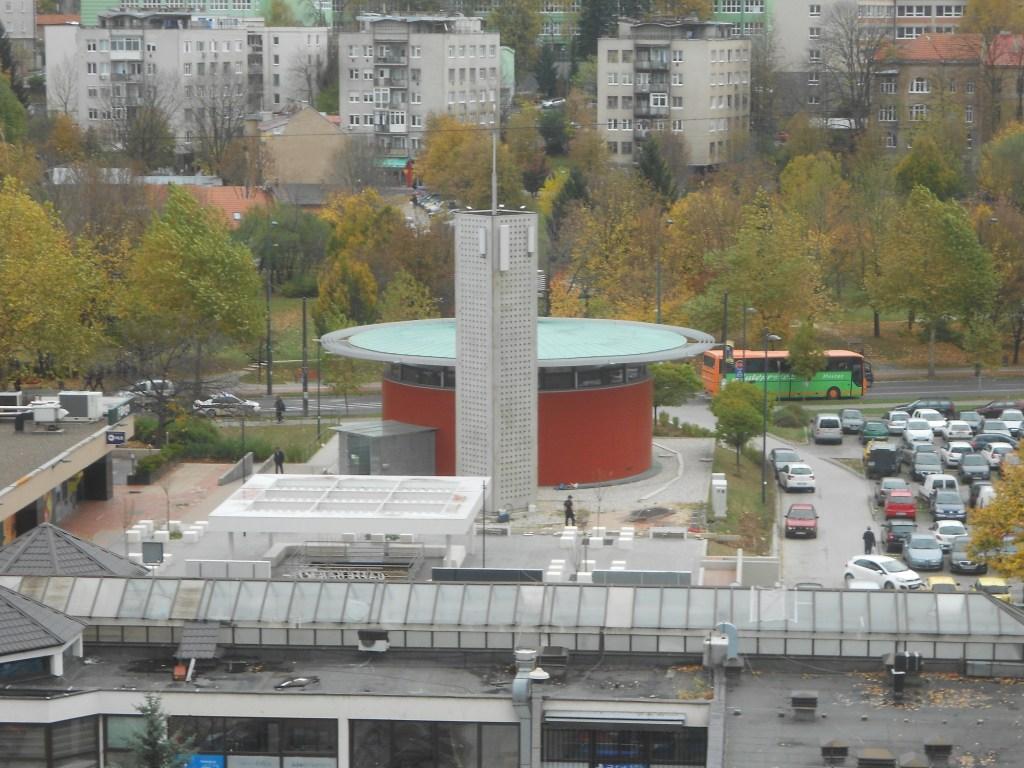 Вид на мечеть сверху. Фото: Елена Арсениевич, CC BY-SA 3.0