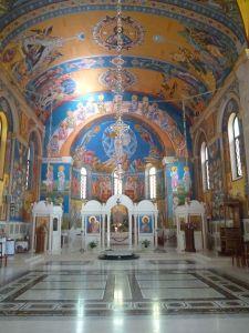 Церковь Святого Преображения Господня. Интерьер. Фото: Елена Арсениевич, CC BY-SA 3.0