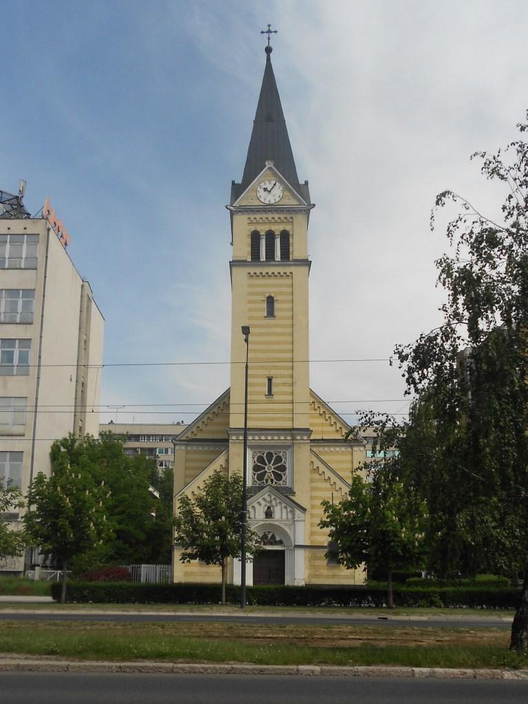 Церковь на улице Змая од Босне. Фото: Елена Арсениевич, CC BY-SA 3.0