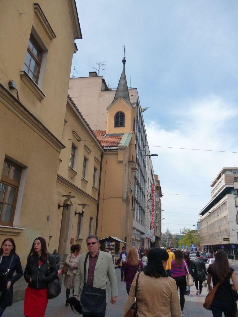 Церковь на улице Тито. Фото: Елена Арсениевич, CC BY-SA 3.0