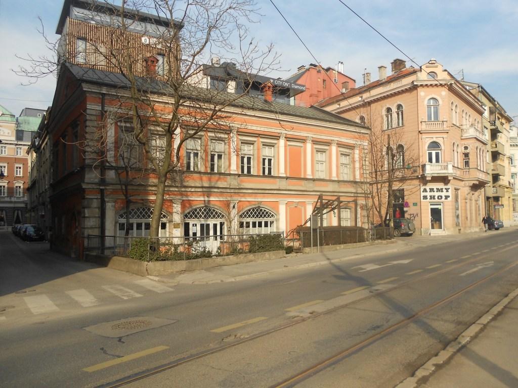 Первый театр в Сараево. Фото: Елена Арсениевич, CC BY-SA 3.0