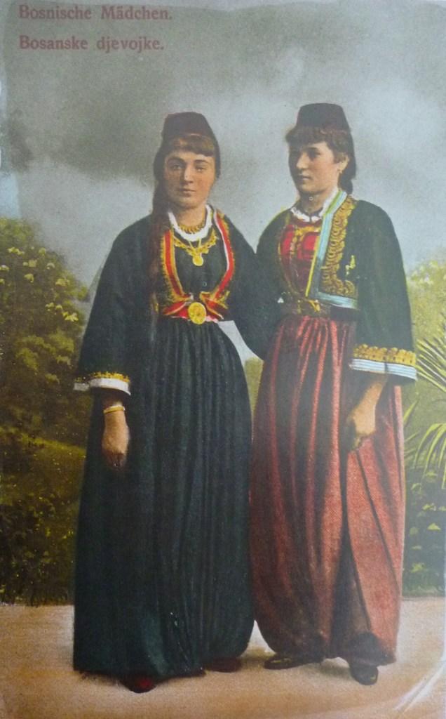 Боснийские девушки. Автор фото неизвестен, public domain
