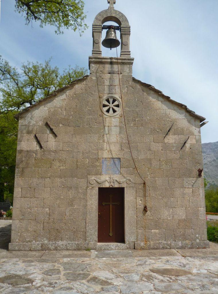 Церковь Рождения Богородицы. Фото: Елена Арсениевич, CC BY-SA 3.0