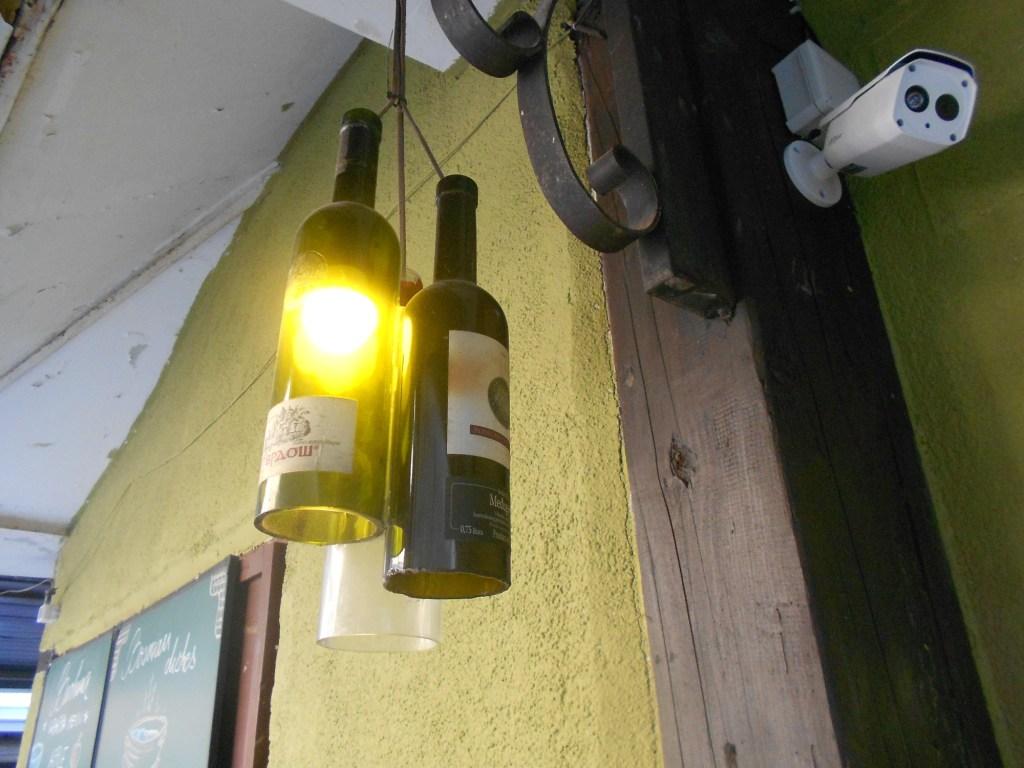 Оригинальный светильник. Фото: Елена Арсениевич, CC BY-SA 3.0