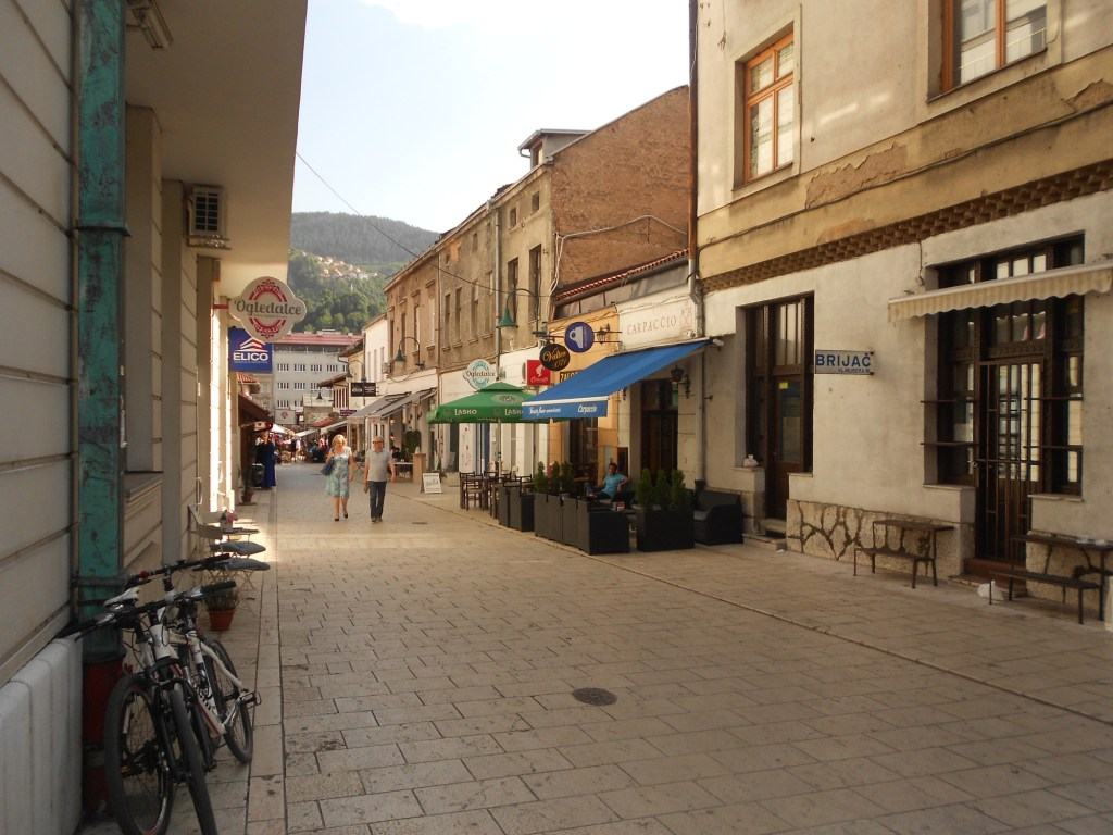 Улица Гази Хусрев-бега. Фото: Елена Арсениевич, CC BY-SA 3.0