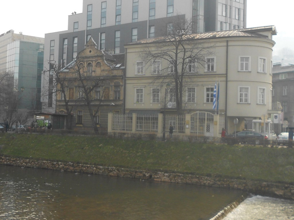 «Дом барышни» и посольство Греции. Фото: Елена Арсениевич, CC BY-SA 3.0