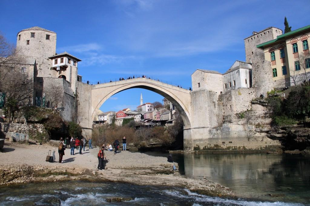 Мостар. Старый мост. Фото: Елена Арсениевич, CC BY-SA 3.0