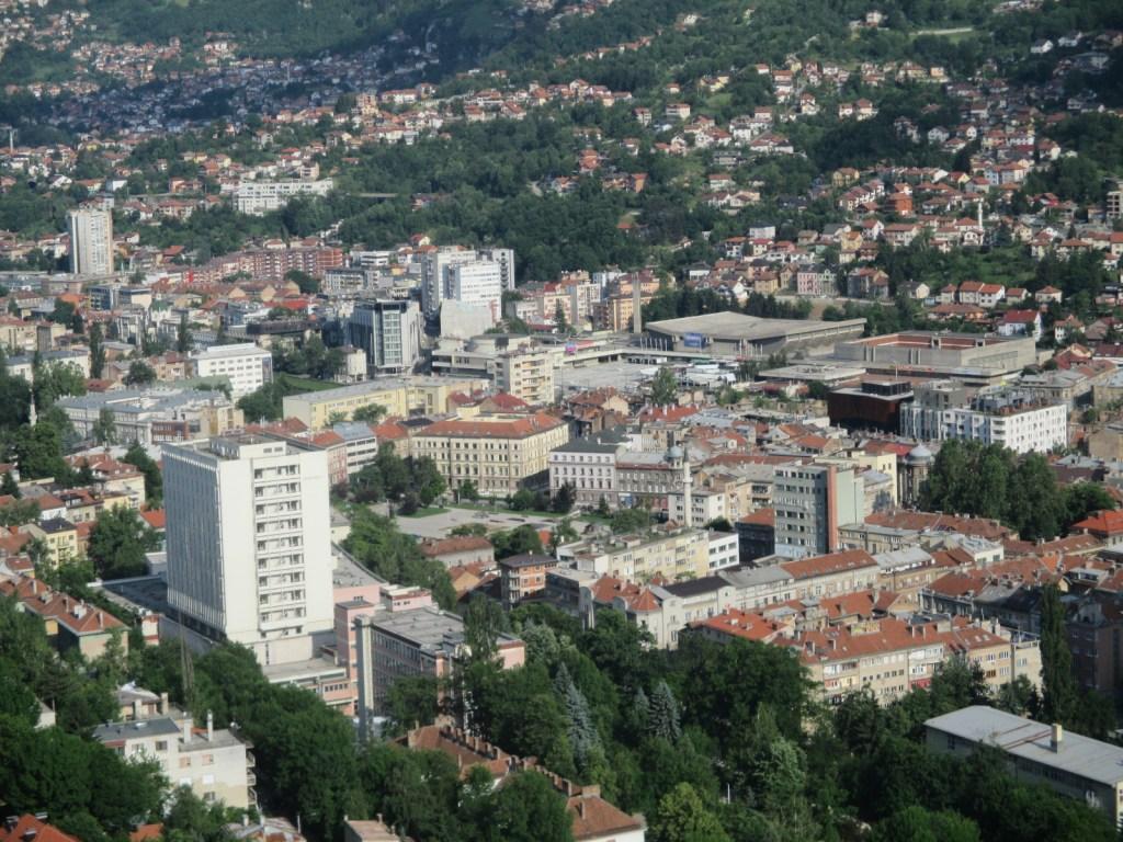 Вид сверху: Скендерия. Фото: Елена Арсениевич, CC BY-SA 3.0