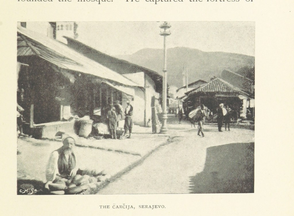 Сараево в XIX веке. The British Library