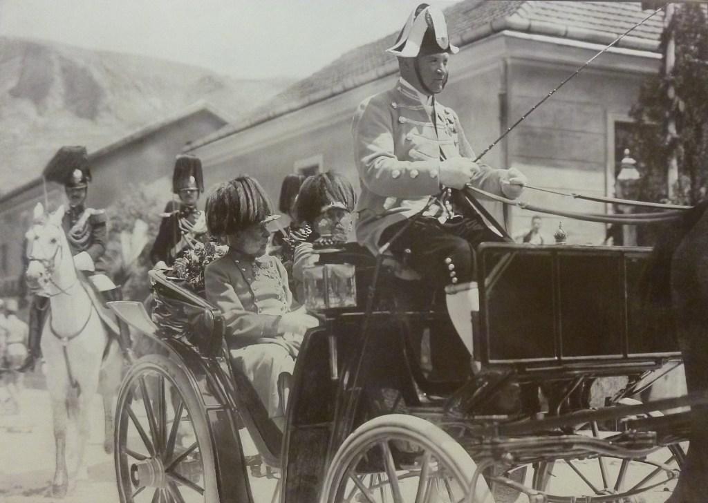 Франц Иосиф I в Мостаре. Автор неизвестен, public domain