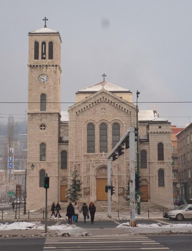 Главный фасад церкви св. Иосифа. Фото: Елена Арсениевич, CC BY-SA 3.0