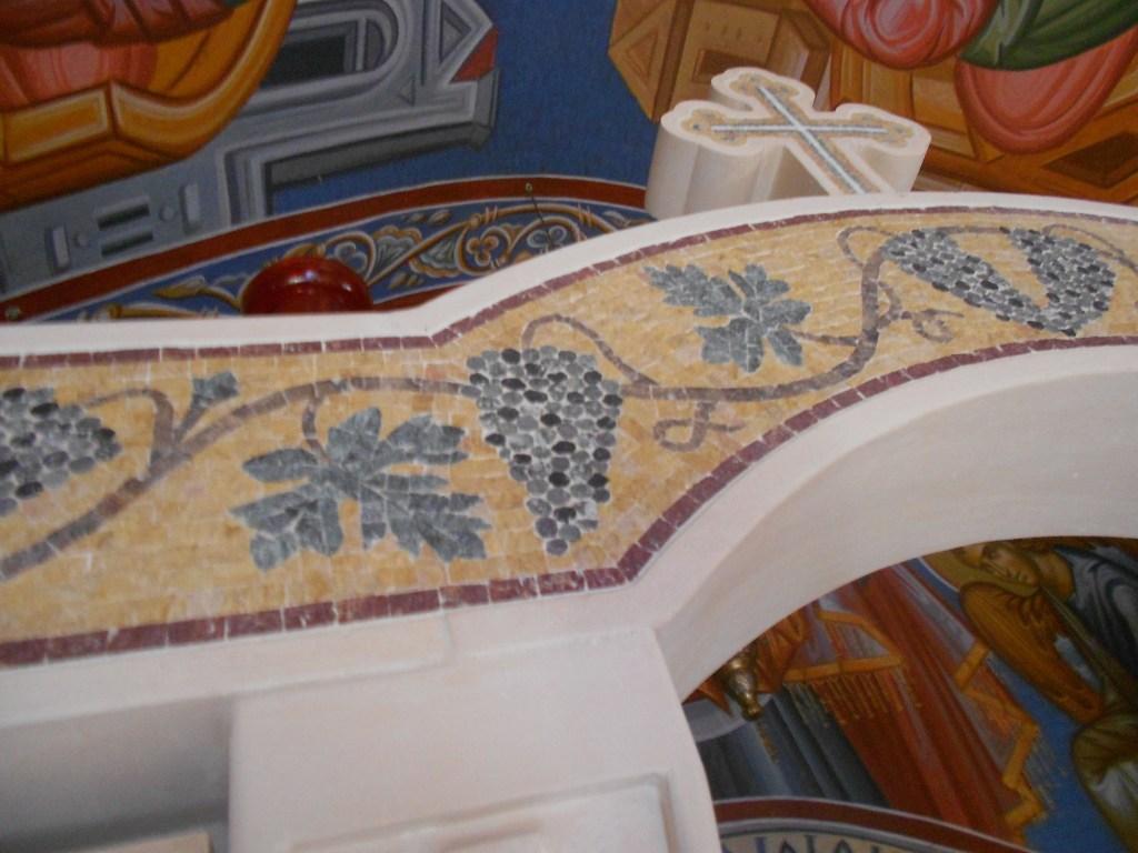 Мозаика в оформлении церкви. Фото: Елена Арсениевич, CC BY-SA 3.0