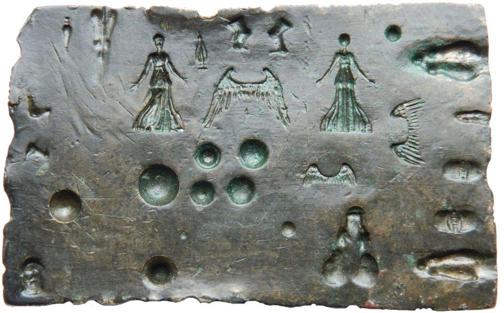 Матрица для отливки украшений. Найдено в Даорсоне/Градине. Хранится в Земальском музее Боснии и Герцеговины. Фото: Zemaljski muzej BiH, Copyright