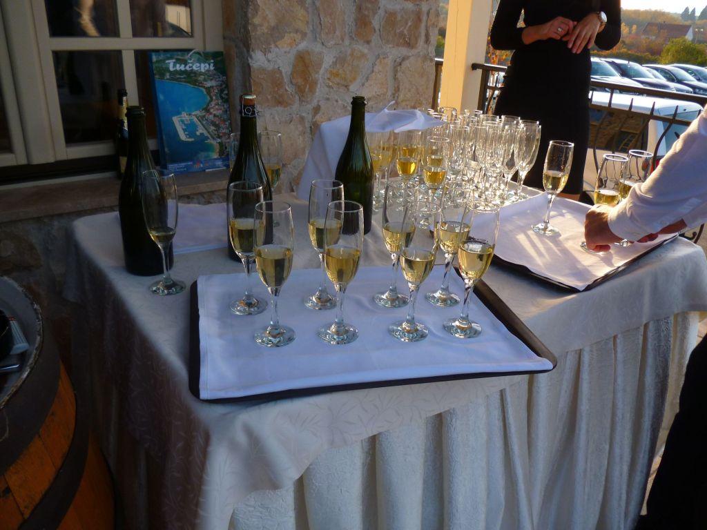 Игристое вино от винодельни Задро. Фото: Елена Арсениевич, CC BY-SA 3.0