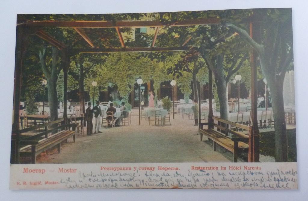 Сад отеля «Нарента» (Неретва). Автор неизвестен, public domain