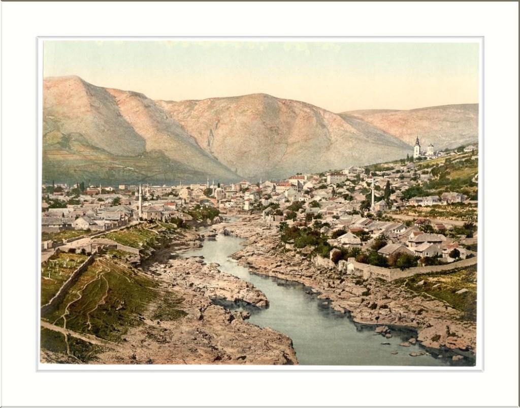 Мостар на старой открытке. Snapshots Of The Past, CC BY-SA 2.0