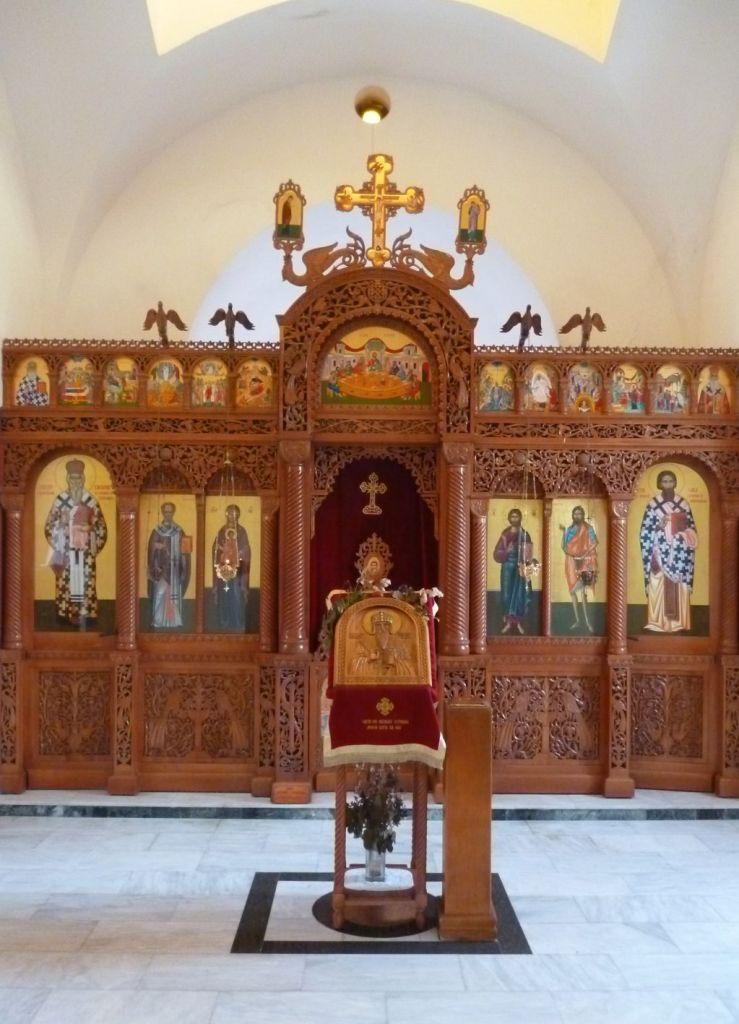 Иконостас в церкви. Фото: Елена Арсениевич, CC BY-SA 3.0