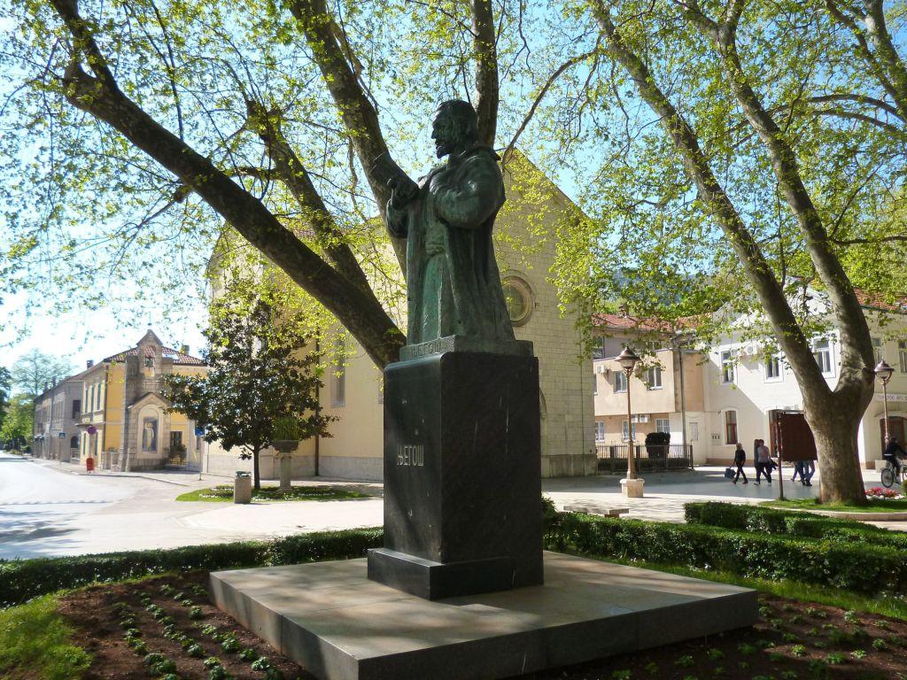 Памятник Негошу. Фото: Елена Арсениевич, CC BY-SA 3.0