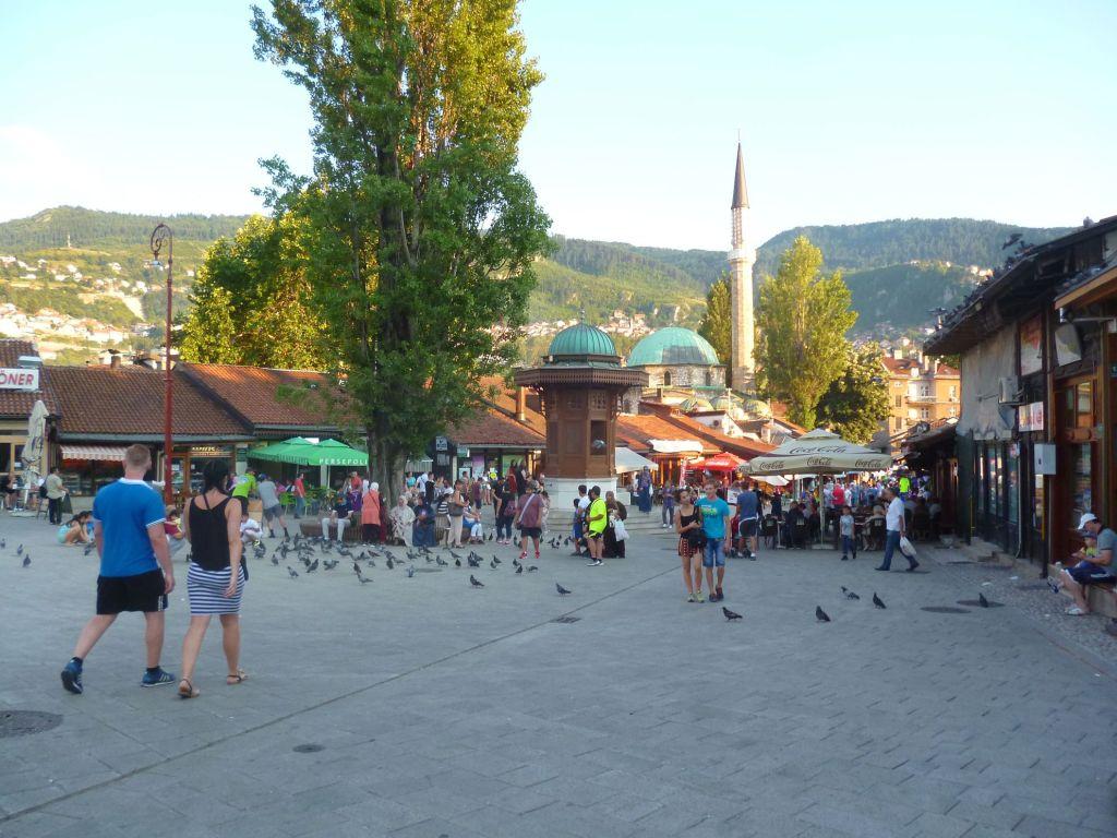 Себиль на Башчаршии в Сараево. Фото: Елена Арсениевич, CC BY-SA 3.0
