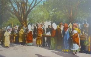 Требиньский рынок в старые времена. Автор неизвестен, public domain