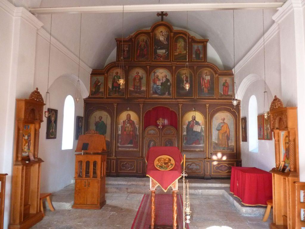 Иконостас церкви св. Петра. Фото: Елена Арсениевич, CC BY-SA 3.0