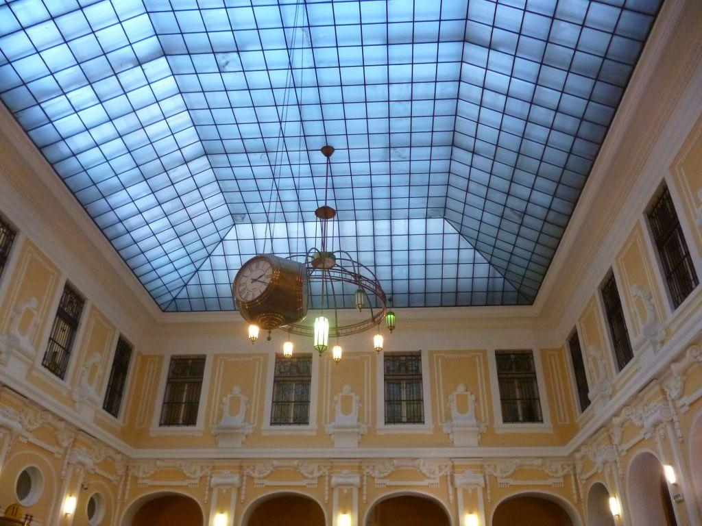 Стеклянный купол над главным залом. Фото: Елена Арсениевич, CC BY-SA 3.0