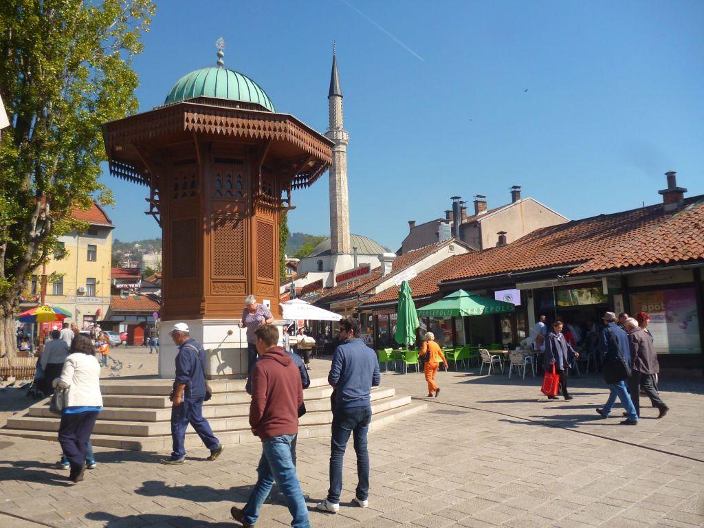 Символ Сараево. Фото: Елена Арсениевич, CC BY-SA 3.0