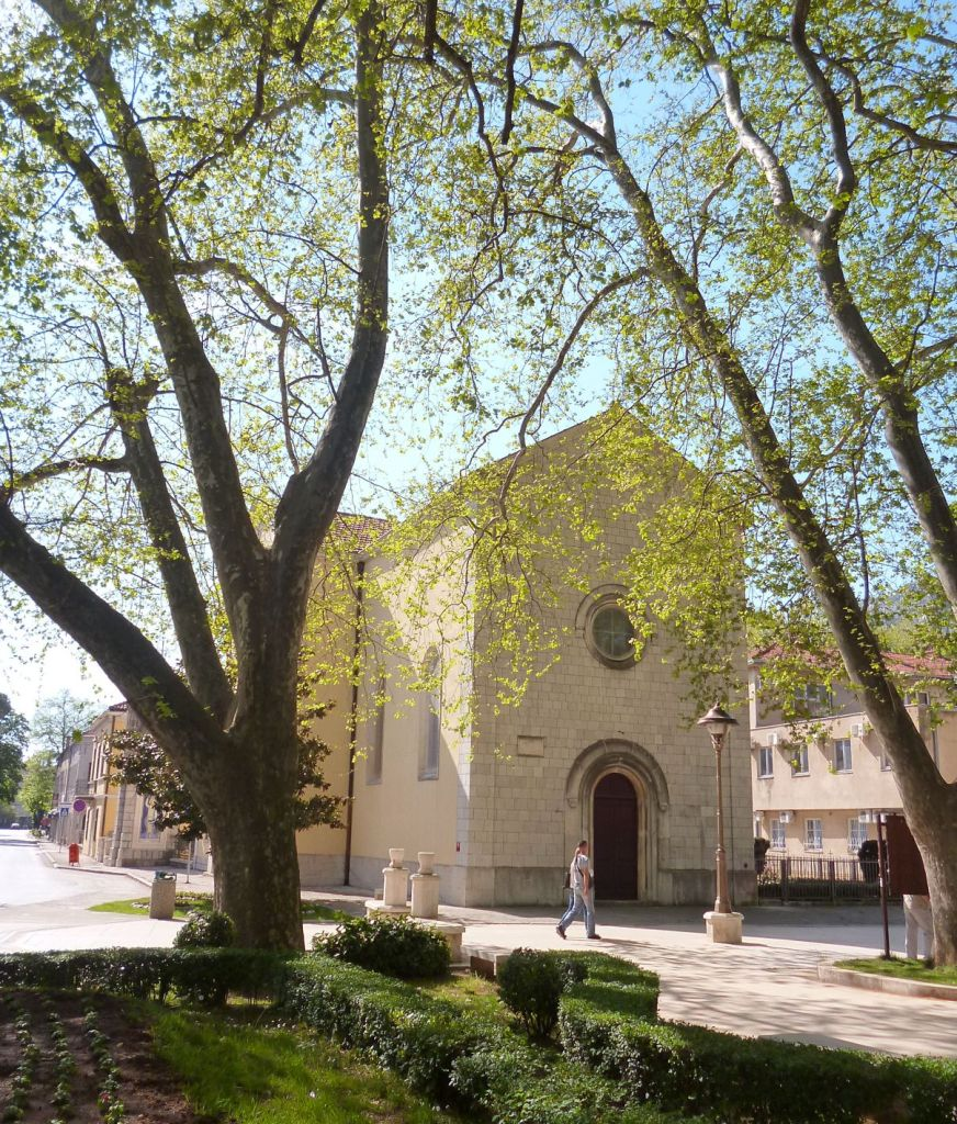 Католическая церковь в Требине. Фото: Елена Арсениевич, CC BY-SA 3.0
