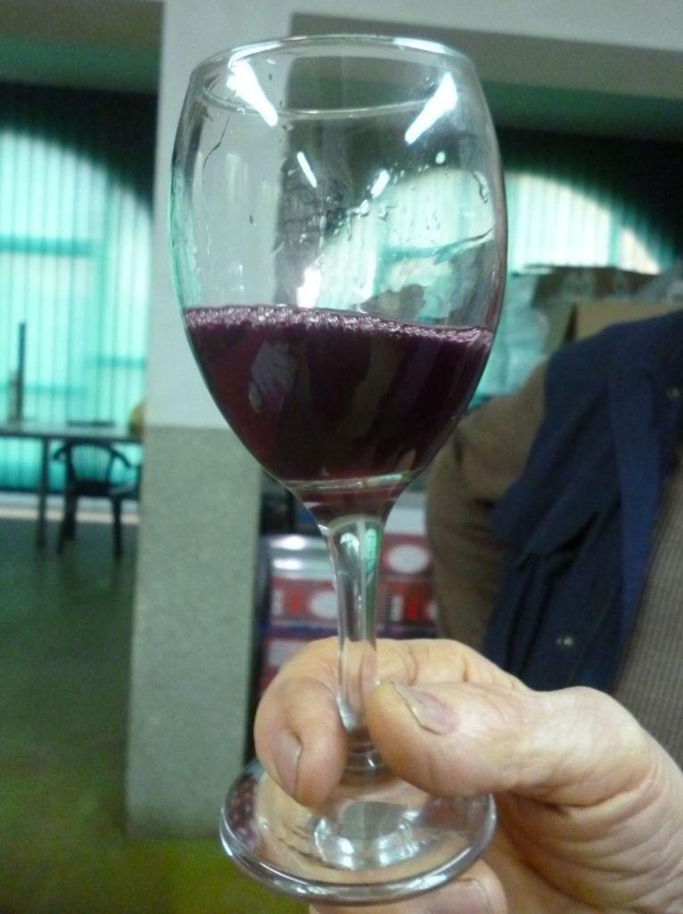 Блатина от Жарко Стоича: рубин с фиолетовым отсветом. Фото: Елена Арсениевич, CC BY-SA 3.0