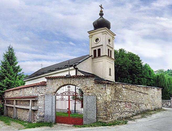 Православная церковь в Травнике. Ibistudio ibis, CC BY-SA 4.0