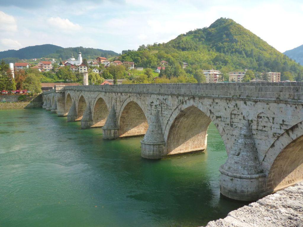 Вишеградский мост. Фото: Елена Арсениевич, CC BY-SA 3.0