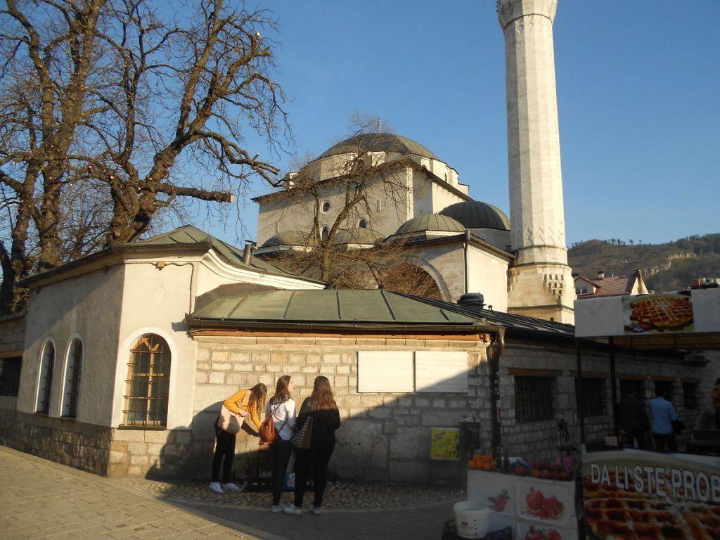 Бегова мечеть в Сараеве. Фото: Елена Арсениевич, CC BY-SA 3.0