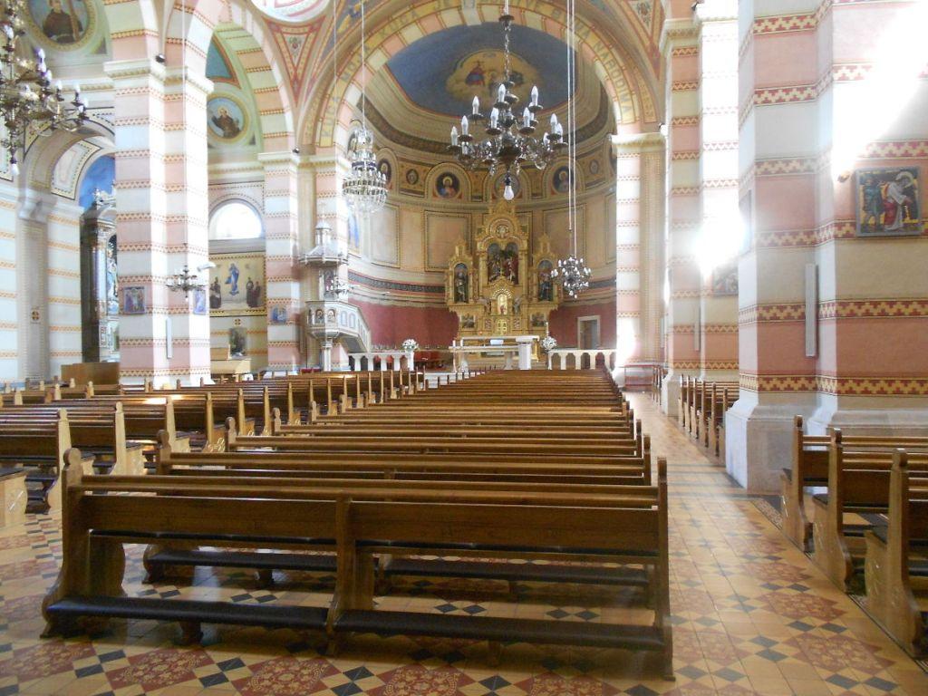 Церковь францисканского монастыря. Фото: Елена Арсениевич, CC BY-SA 3.0