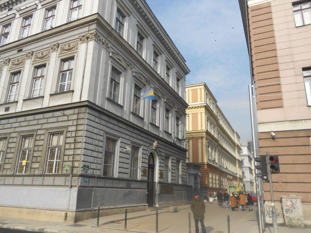 Основная школа и Первая гимназия в Сараево. Фото: Елена Арсениевич, CC BY-SA 3.0