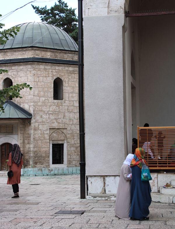 Гробница Гази Хусрев-бега в Сараево. Фото: Елена Арсениевич, CC BY-SA 3.0