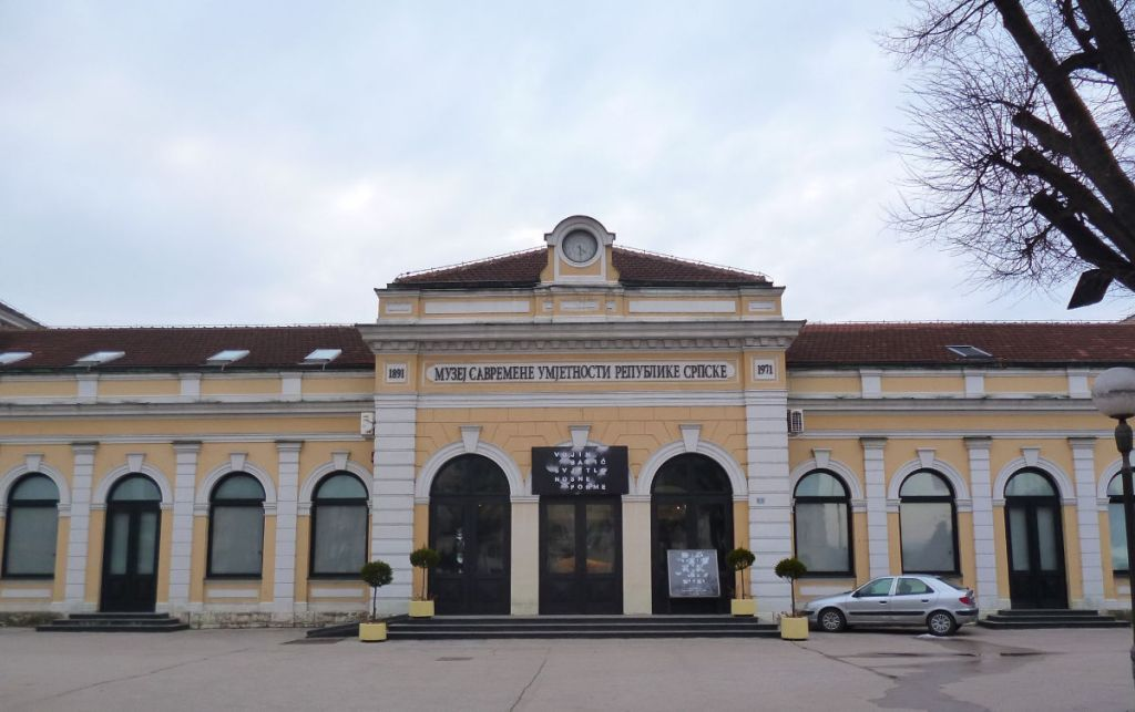 Музей современного искусства Республики Сербской. Фото: Елена Арсениевич, CC BY-SA 3.0