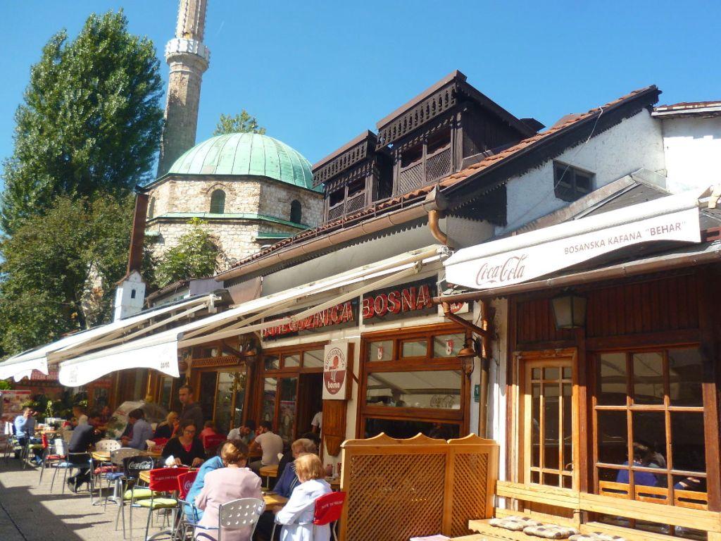Сараевская Башчаршия. Фото: Елена Арсениевич, CC BY-SA 3.0
