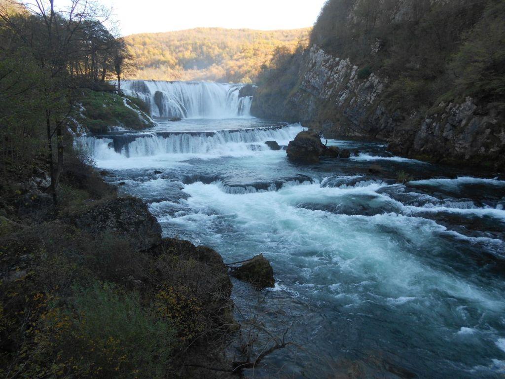 Водопад Штрбачки бук в национальном парке Уна. Фото: Елена Арсениевич, CC BY-SA 3.0