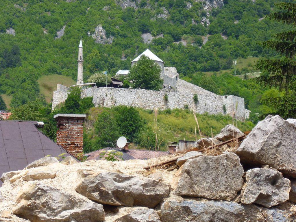 Крепость в Травнике. Фото: Елена Арсениевич, CC BY-SA 3.0