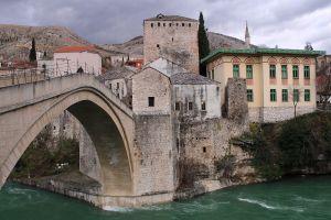 Архитектурный комплекс Старого моста. Фото: Елена Арсениевич, CC BY-SA 3.0