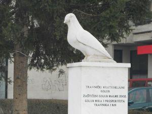 Памятник голубю. Фото: Елена Арсениевич, CC BY-SA 3.0