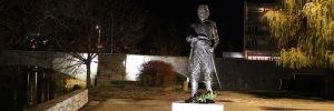 Памятник Луке Вукаловичу. Фото: Елена Арсениевич, CC BY-SA 3.0