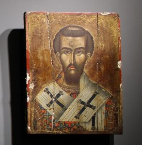 Св. Иоанн Златоуст, греческий мастер, 17-18 век. Фото: Елена Арсениевич, CC BY-SA 3.0