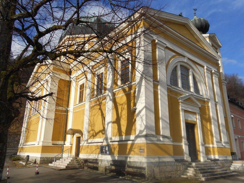 Церковь по проекту Йосипа Ванцаша. Фото: Елена Арсениевич, CC BY-SA 3.0