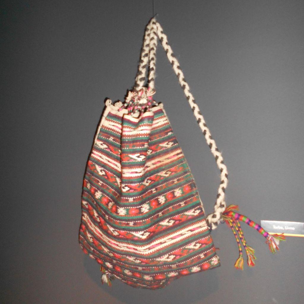 Торба с запетлячей. Земальский музей в Сараево. Фото: Елена Арсениевич, CC BY-SA 3.0